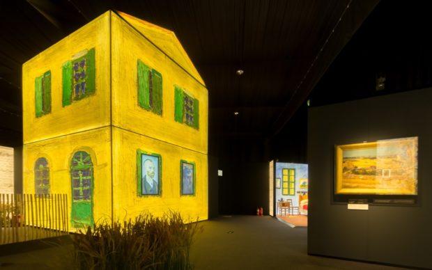 Installation view of Meet Vincent van Gogh. Image courtesy of Meet Vincent van Gogh.Meet Vincent van Gogh, 7 February 2020 - 21 May 2020, 99 Upper Ground, London, meetvincent.co.uk