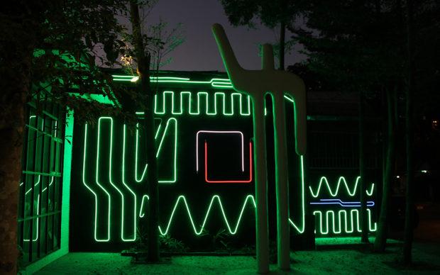 Interactive Neon Mural #7