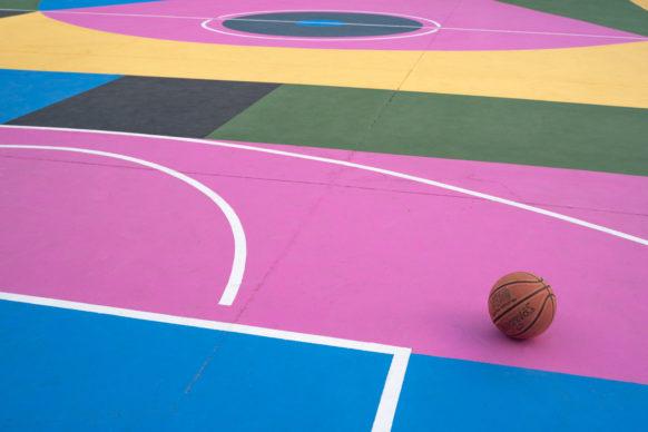 "Nico Skolp,""Let's Play Culture"", piazza degli Olmi a Matera. Photo credits Nico Skolp"