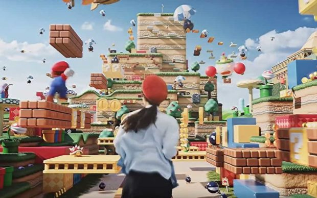 Super-Nintendo-World, via Artribune