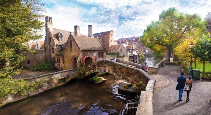Bonifaciusbrug, Bruges - Fiandre © Jan D'Hondt. Foto via visitbruges.myportfolio.com