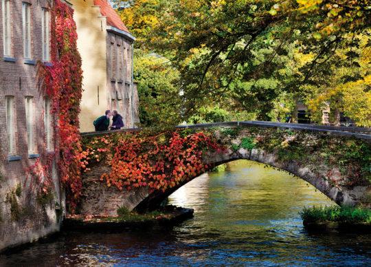 Groene Rei, Bruges - Fiandre © Jan D'Hondt. Foto via visitbruges.myportfolio.com