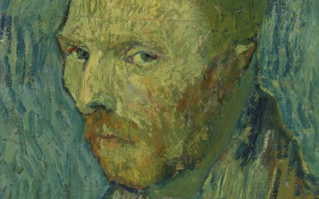 Vincent van Gogh, Self-Portrait(detail), 1889, oil on canvas, 51.5 x 45 cm, Nasjonalmuseet for kunst, arkitektur og design, Oslo