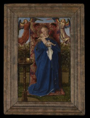 Jan van Eyck, The Madonna at the Fountain , 1439. Oil on panel 19 x 12 cm Royal Museum of Fine Arts, Antwerp © www.lukasweb.be - Art in Flanders vzw. Photo Hugo Maertens