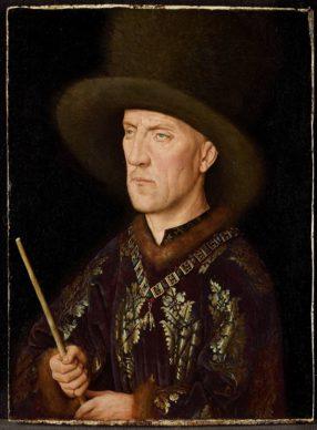 Jan van Eyck, Portrait of Baudouin de Lannoy, c.1435. Oil on panel 26.6x19.6 cm  Gemäldegalerie der Staatlichen Museen zu Berlin – Preussischer Kulturbesitz, Berlin http://closertovaneyck.kikirpa.be, © KIK-IRPA, Brussel
