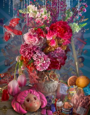 David LaChapelle, Earth Laughs in Flowers (Risk), 2008-2011, C-Print, 152x107 cm; Courtesy: Studio David LaChapelle