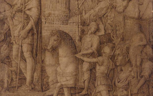 Andrea Mantegna, The Triumph of Alexandria, courtesy Sotheby's