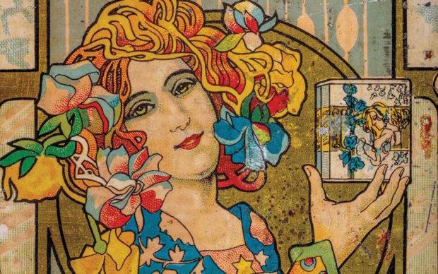 Lattine italiane per olio d'oliva 1860-1960. Collezione Guatelli, dettaglio della copertina
