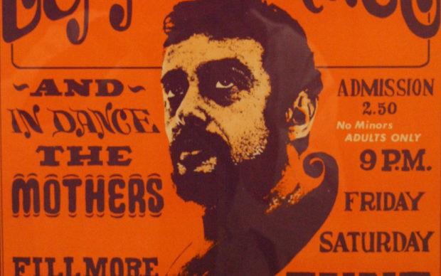 Wes Wilson Poster for San Francisco's Fillmore, photo by David, 17 luglio 2007, via Flickr (CC BY 2.0)