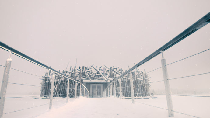 Arctic Bath, Harads, Svezia. Photo credit: Pasquale Baseotto