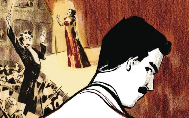 Sara Colaone, Tosca, dettaglio della copertina