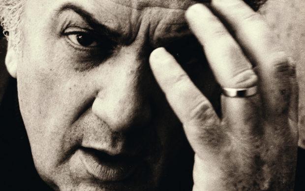 Charlotte Chandler, Io, Federico Fellini, BUR/Rizzoli, dettaglio della copertina