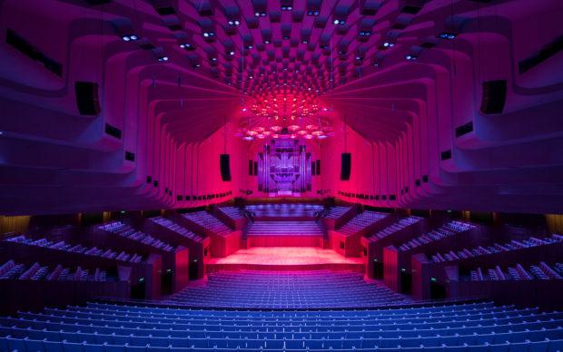 Sydney Opera House, Concert Hall, credit Daniel Boud