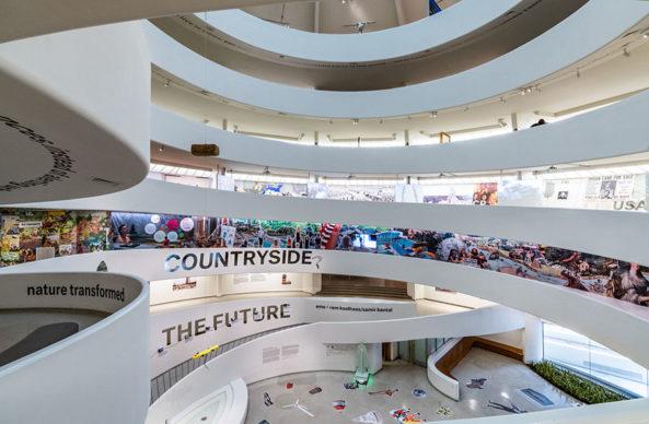 Installation View: Countryside, The Future, February 20–August 14, 2020 Photo: David Heald © Solomon R. Guggenheim Foundation.