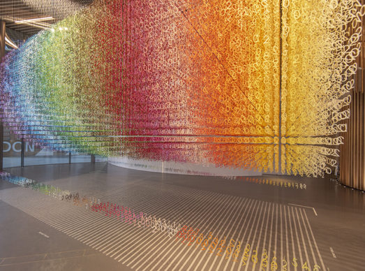 Emmanuelle Moureaux, Slices of Time. Londra, NOW Gallery. Photo credit Charles Emerson