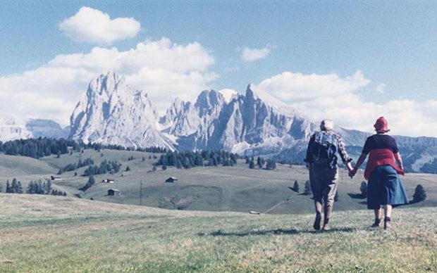 Luigi Ghirri, Alpe di Siusi, 1979 © eredi di Luigi Ghirri