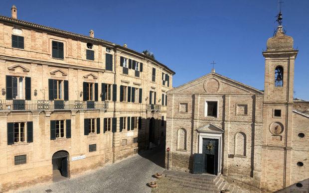Palazzo Leopardi, Recanati (MC). Foto proprietà Casa Leopardi