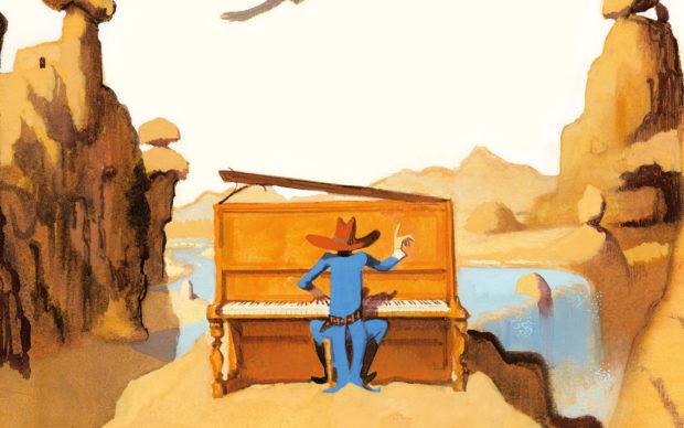 Pianoforte Bill, Emme Edizioni, dettaglio della copertina