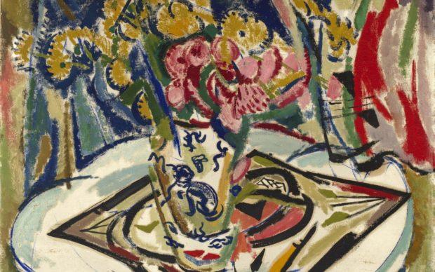 Smithsonian American Art Museum, Gift of H. Lyman Sayen to his nation, 1915. Artist: H. Lyman Saÿen, born Philadelphia, PA 1875 - died Philadelphia, PA 1918, oil on canvas, 76.5 x 91.8 cm. CC0