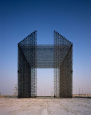 The Expo 2020 Dubai Entry Portals designed by Asif Khan. Photography by Helene Binet