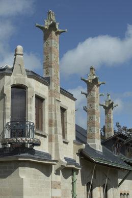 Villa Majorelle Nancy, détail du balcon sud, (c)MEN 2019, cliché P. Caron