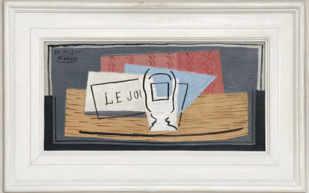 Nature Morte, Pablo Picasso 1921 ©Succession Picasso, Paris, 2019
