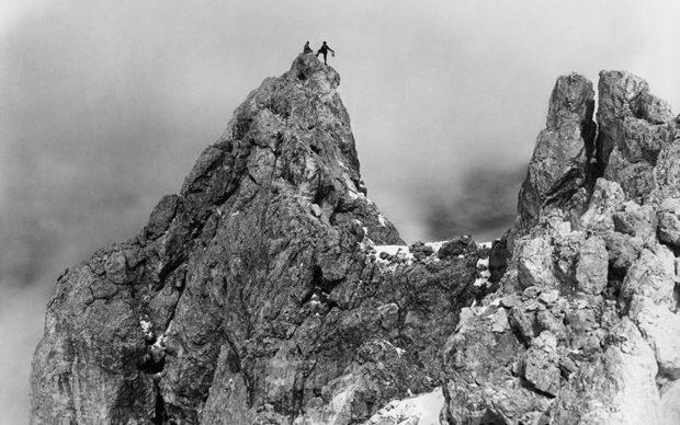 Vittorio Sella - Ultimo picco dal Cimon della Pala (San Martino di Castrozza), 26 agosto 1891. Crediti Archivi Fondazione Sella