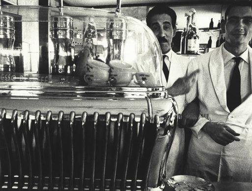 William Klein, Koffee and attendants, 1956  © William Klein