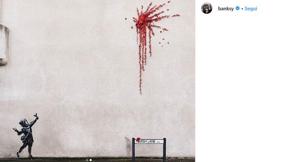 banksy san valentino via Instagram