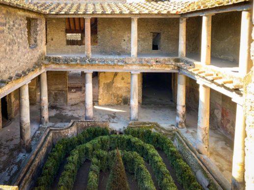 Parco Archeologico di Pompei, Casa degli Amanti. Foto per gentile concessione del Parco Archeologico di Pompei