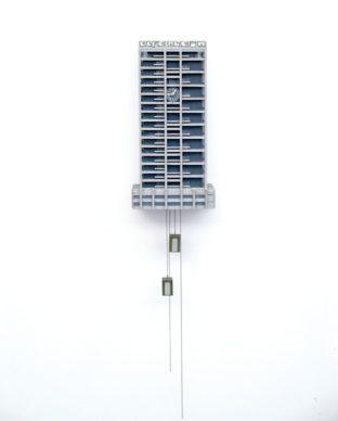 """Guido Zimmermann, Cuckoo Block """"Elfenbein (AfE) Turm"""", courtesy the artist"""
