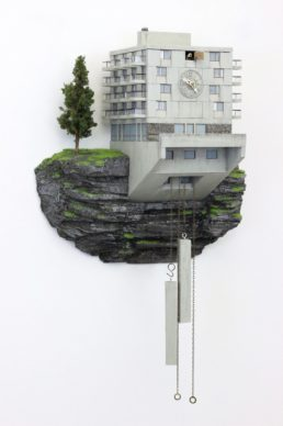 "Guido Zimmermann, Cuckoo Block ""Hotel La Flaine"", courtesy the artist"