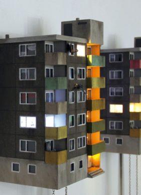 "Guido Zimmermann, Cuckoo Block ""Frankfurt − Green Edition"", courtesy the artist"