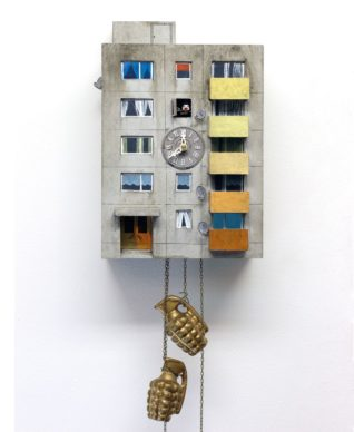"Guido Zimmermann, Cuckoo Block ""Niederrad"", courtesy the artist"