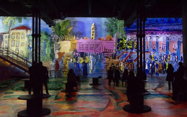 Monet, Renoir, and Chagall: Journeys Around the MediterraneanPhoto: © Dominique Chauvet © Culturespaces/Nuit de Chine