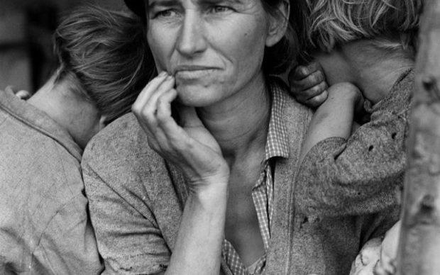 Dorothea Lange, Migrant Mother, 1936, copyright CSAC Università di Parma