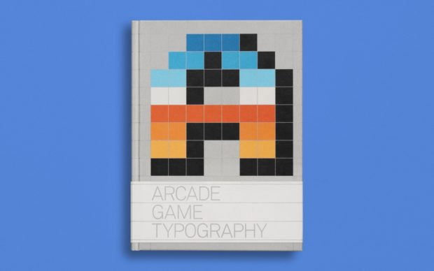 Arcade Game Typography, Read Only Memory, cover