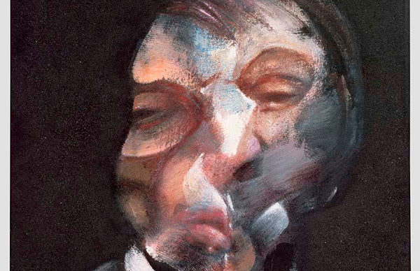 Francis Bacon, Self-Portrait, 1971, oil on canvas, Centre Pompidou, Musée national d'art modern - Centre de création industrielle, Paris. © The Estate of Francis Bacon. All rights reserved. DACS, London / ARS, NY 2019