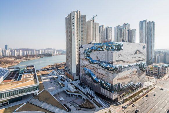 OMA, Galleria a Gwanggyo, Corea © Hong Sung Jun, courtesy of OMA