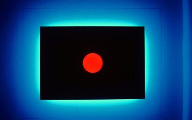 Nanda Vigo,Light progressions. Omaggio a Lucio Fontana (1993), 140 x 110 x 18,5 cm. Courtesy Archivio Nanda Vigo