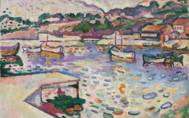 Georges Braque, The Port de l'Estaque, The Pier, 1906, olio su tela, 60 x 73 cm. Nancy F. and Joseph P. Keithley Collection Gift, 2020.104