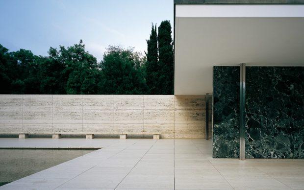 Ludwig Mies van der Rohe e Lilly Reich, Barcelona Pavilion, Barcellona. Photo Pepo Segura