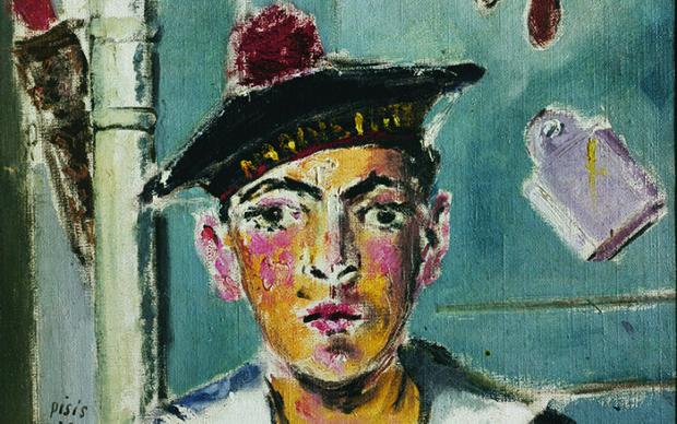 Filippo de Pisis Il marinaio francese, 1930 Olio su tela, 60 × 50 cm Collezione privata © Filippo de Pisis by SIAE 2019