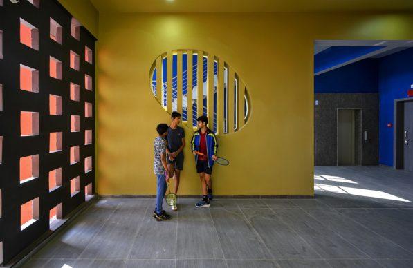 Sanjay Puri Architects, The Rajasthan School a Nagaur, India. Photo credit: Dinesh Mehta