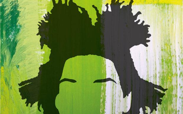 Ian Castello-Cortes, Cercasi Basquiat disperatamente, L'Ippocampo Edizioni, dettaglio della copertina