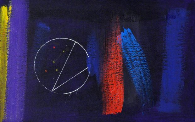A Song of Night, by Wilhelmina Barns-Graham (1912-2004). Photo credit: © Wilhelmina Barns-Graham Trust. Photo credit: Wilhelmina Barns-Graham Trust