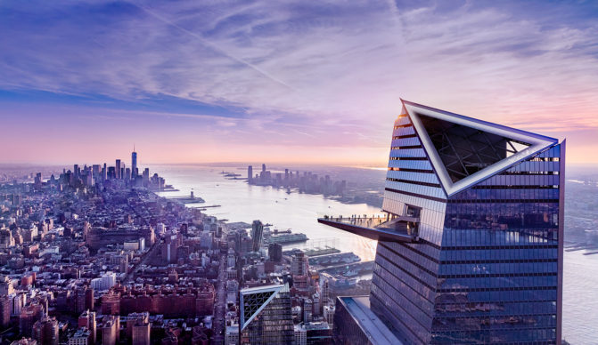 New York, Edge at Sunset. Photo Courtesy of Related-Oxford