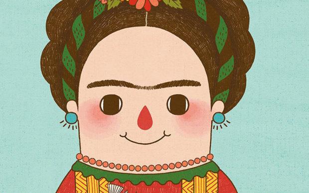 Frida Kahlo libro bambini illustrato Little People, Big Dreams