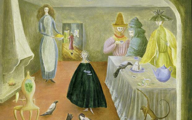 Leonora Carrington,The Old Maids, 1947, © Estate of Leonora Carrington / ARS, NY and DACS,London 2019, UEA 27. Sainsbury Centre for Visual Arts, University of East Anglia. Photographer:James Austin