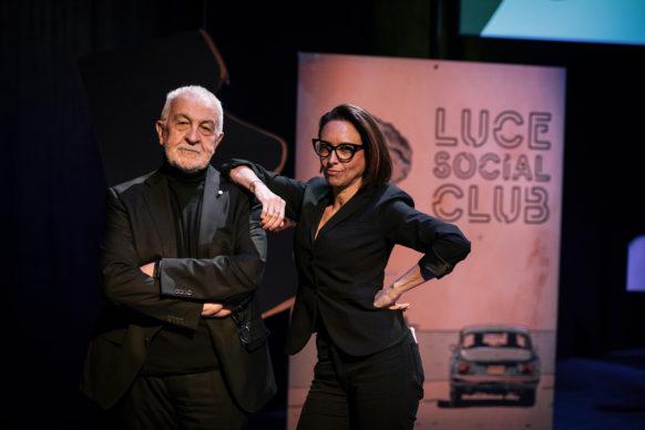 Gianni Canova e Martina Riva conducono Luce Social Club